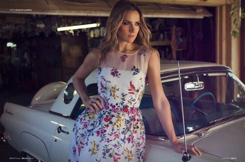 Shantel VanSanten wallpaper probably with an automobile titled Shantel VanSanten for Bello Magazine June 2015