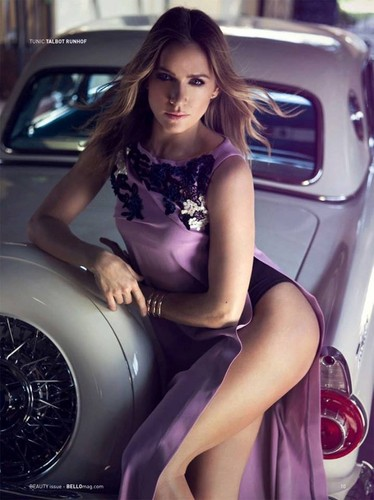 Shantel VanSanten karatasi la kupamba ukuta probably with an automobile entitled Shantel VanSanten for Bello Magazine June 2015