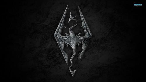 Elder Scrolls V : Skyrim wallpaper possibly containing a triceratops called Skyrim