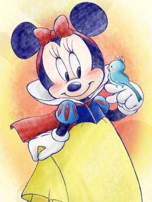 Snow Minnie
