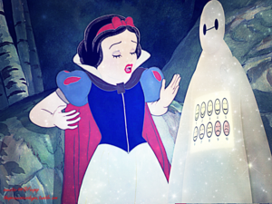 Snow White and Baymax