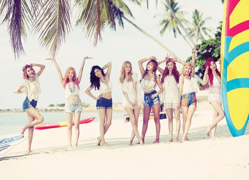 Girl's Generation/SNSD karatasi la kupamba ukuta called Snsd Party