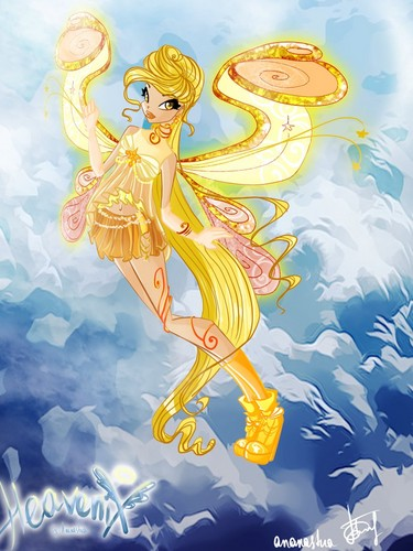 The Winx Club wallpaper probably containing anime entitled Stella Heavenix