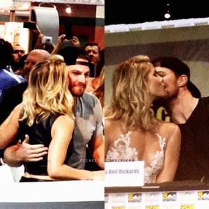 Stemily Kisses  - San Diego Comic-Con July 11, 2015