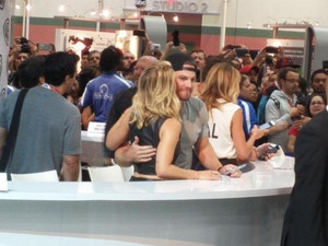 Stephen and Emily at SDCC 2015
