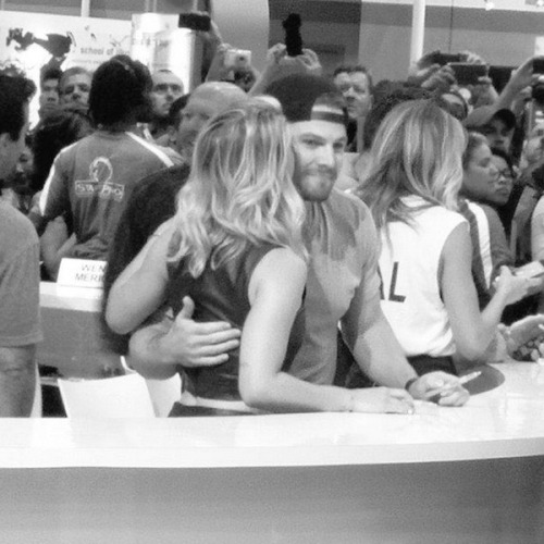 Stephen and Emily @ SDCC 2015