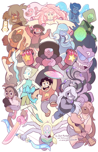 steven universe wallpaper entitled Steven Universe Scramble