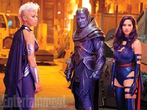 Storm, Apocalypse and Psylocke