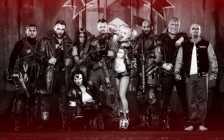 Suicide Squad achtergrond
