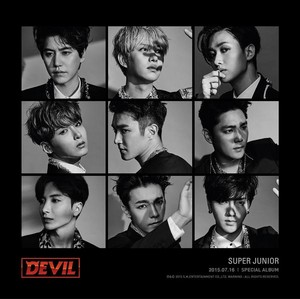 "Super Junior Unveils Teasers for 10th Anniversary Special Album ""Devil"""