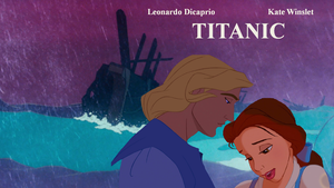 Disney's タイタニック Poster