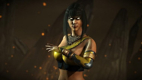 Mortal Kombat kertas dinding probably with a breastplate called Tanya: Former Edenian and betrayer of Edenia