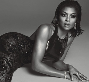 Taraji P. Henson in W Magazine - August 2015