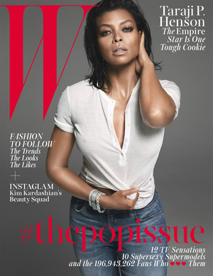 Taraji P. Henson on the cover of W Magazine - August 2015