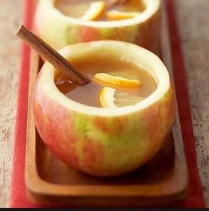 thé in an pomme