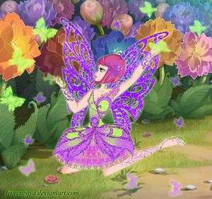 Tecna Butterflix