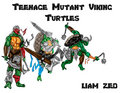 Teenage Mutant Viking Turtles Group - teenage-mutant-ninja-turtles fan art