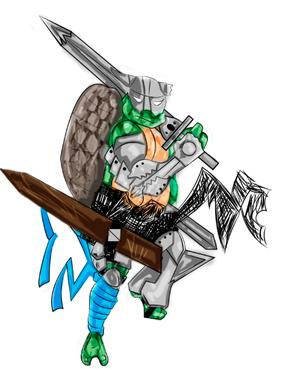 Teenage Mutant Viking Turtles Leo