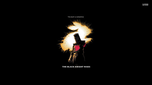 Monty Python wallpaper titled The Black Knight Rises