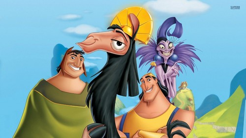 disney clásico fondo de pantalla possibly containing anime called The Emperor's New Groove
