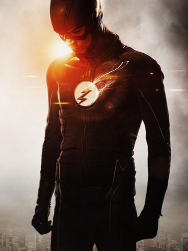 The Flash (CW) वॉलपेपर possibly containing an outerwear called The Flash - Season 2 - First Look at the New Costume