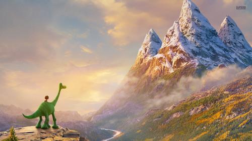 डिज़्नी वॉलपेपर titled The Good Dinosaur