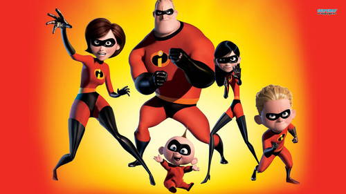 Disney wallpaper probably containing Anime entitled The Incredibles