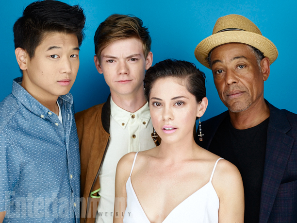 The Maze Runner: The Scorch Trials Cast at 2015 Comic-Con