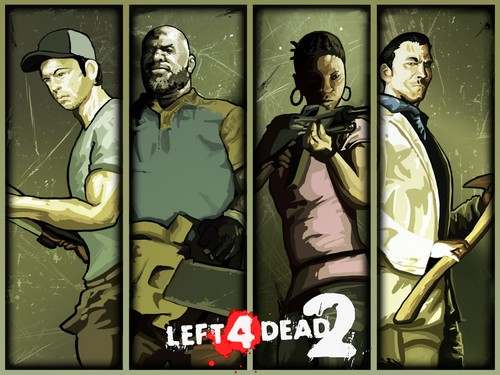 left 4 dead 2 پیپر وال with عملی حکمت entitled The Survivors