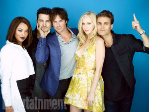 The Vampire Diaries Cast at 2015 Comic-Con