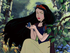 shabiki Art -The Young Evil Queen as Snow White