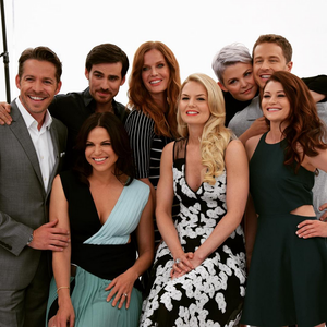 The cast of Once Upon a Time