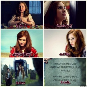 The story of Amelia Pond