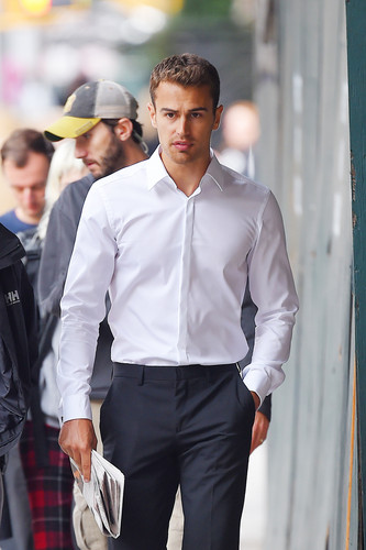 Theo James Wallpaper Containing A Business Suit And Well Dressed Person Titled