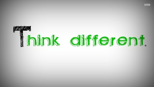 Advice wallpaper called Think Different