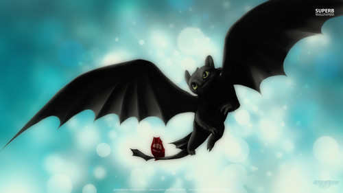 Dragons wallpaper entitled Toothless