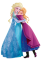 Transparent Elsa and Anna