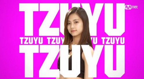 Twice (JYP Ent) wallpaper probably containing a portrait called Tzuyu
