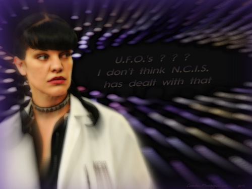 Abby Sciuto wallpaper called U.F.O.'s ? ? ?