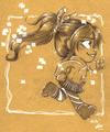 Vanellope - wreck-it-ralph fan art