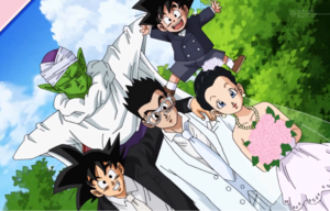 Videl and Gohan Wedding Dragon Ball Super Version