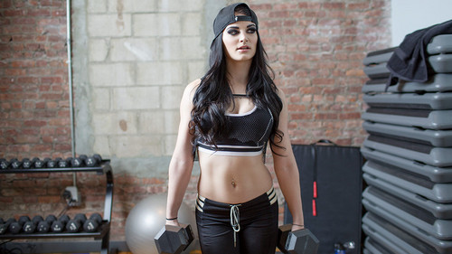 WWE Divas achtergrond entitled WWE Body Series - Paige