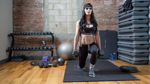 WWE Divas achtergrond probably with a hip boot called WWE Body Series - Paige