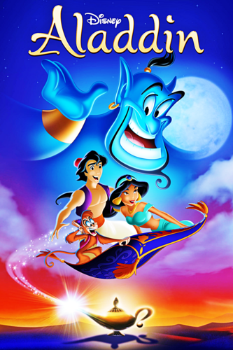 Walt Disney Characters achtergrond probably containing anime called Walt Disney Posters - Aladdin