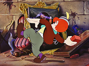 Walt Disney Screencaps - Lampwick