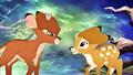 Walt Disney Screencaps - Ronno & Bambi