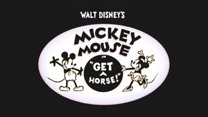Walt disney Screencaps - Walt disney judul Cards: Get A Horse