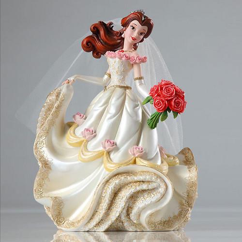 ডিজনি জগতের রাজকন্যা দেওয়ালপত্র possibly containing a bouquet called Walt ডিজনি Showcase - Beauty and the Beast - Belle Bridal Couture de Force