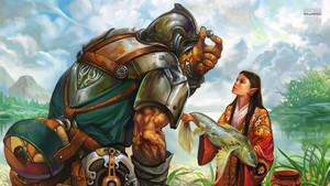 Warrior and Elf