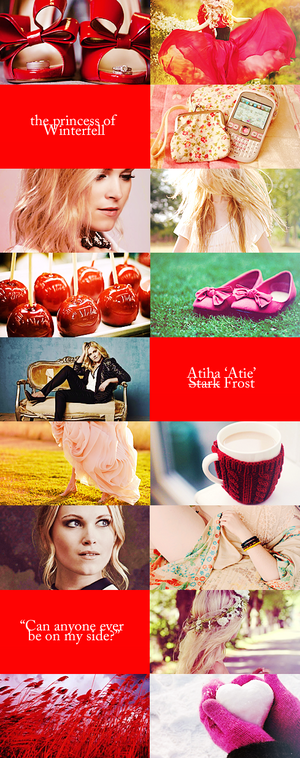 We Might Fall Modern Aesthetic ; Atie (Stark) Frost